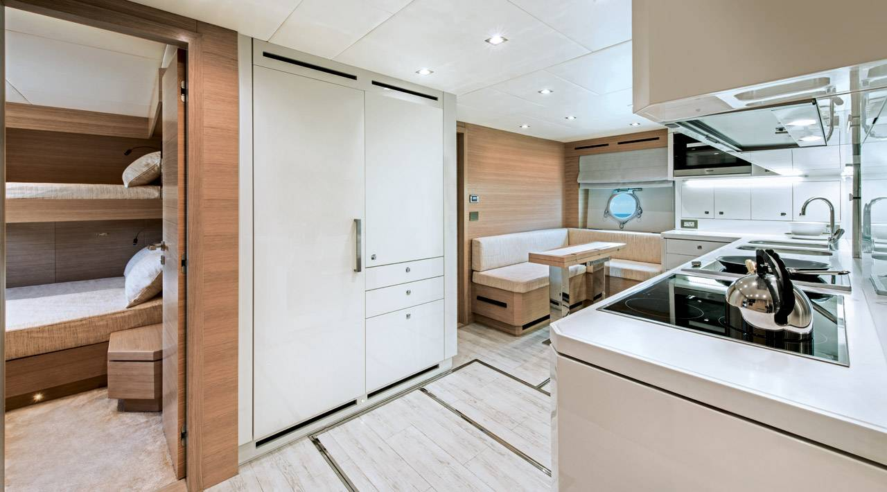 MCY 105 Galley