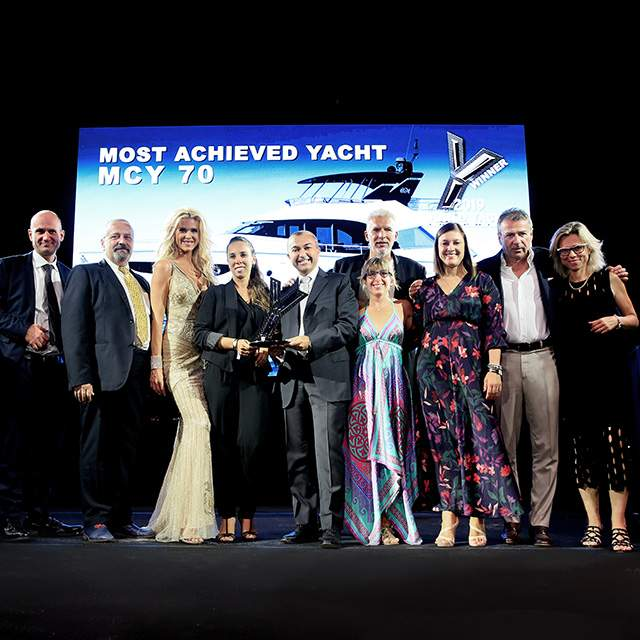 "MCY 70 : le ""Most achieved yacht"" de l'année 2019"