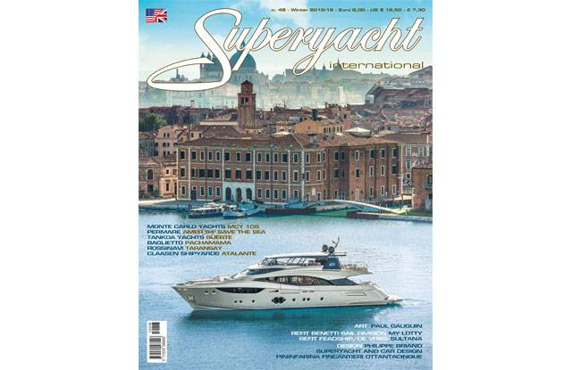 Cover MCY105 - Superyacht International eng